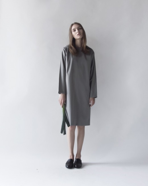 BEVERLY LONG SLEEVES DRESS