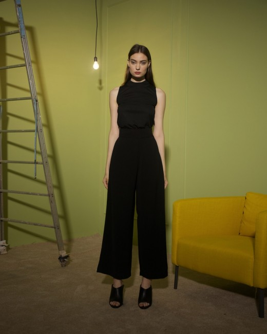DIALOGUE WIDE LEG PANTS