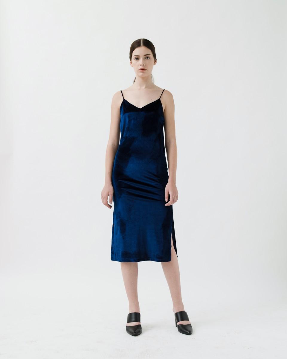 MIDNIGHT SLIP DRESS
