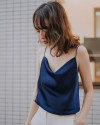 SOLACE TOP MIDNIGHT BLUE